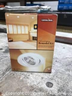 "3"" Recessed Lighting Remodel Kit"