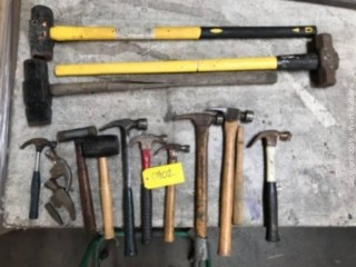 (7) Hammers, (5) Mallets, and More