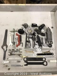 Wrenches, Adapters, And Assorted Parts