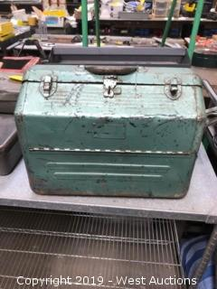 (3) Used Toolboxes & (1) Cash Box