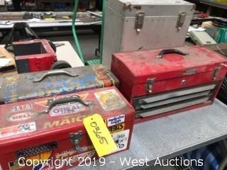 (4) Used Toolboxes