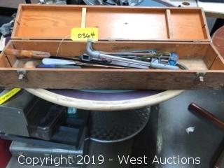 Handsaws,Blades And Wooden Case