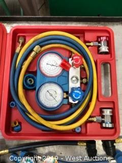 Car AC Tester & Aftermarket Charging Hoses