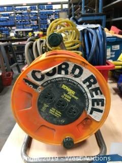 100ft Tower Power Cord Reel