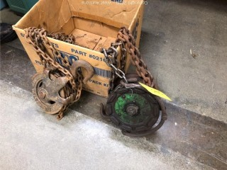 (2) Chain Hoist Pully System