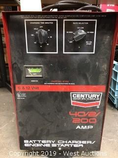 Century 40/2/200 Amp Battery Charger/Engine Starter