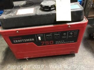 Craftsman 750watt Generator