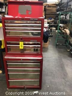 Craftsman Toolbox W/ 10 Pullout Drawers