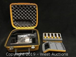 Trimble Battery Charging Kit With Carrying Case