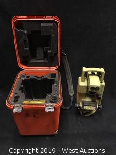 Wild Heerbrugg Sercel Theomat Wild T1600 Electronic Theodolite with Carrying Case