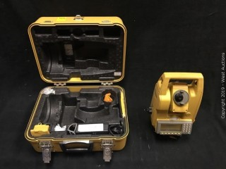 Topcon GTS-600 Electronic Total Station With Accessories And Carrying Case