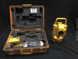 Topcon GTS-2 Total Station With Accessories And Carrying Case