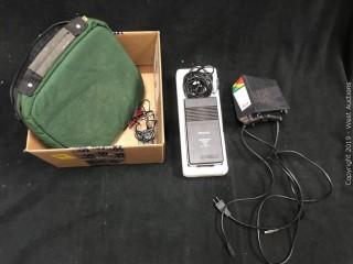 Contents Of Box: Leica Charger, Cables, Battery Charger