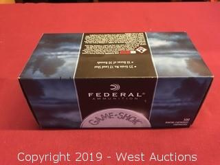 (10) Federal 22 Cal. Long Rifle 12 Shot Bird Shot Boxes