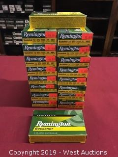 (18) Remington 12 x 2-3/4 4 Buck Boxes
