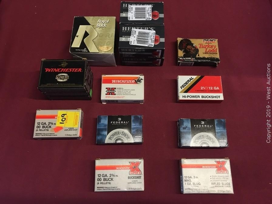 Inventory Reduction Auction of Firearm Ammunition, Knives, Scopes and Accessories