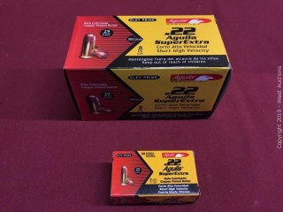 Brick Of (10) Aguila 22 Short High Velocity Boxes