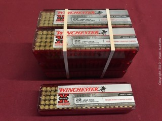 (7) Winchester 22 LR Boxes