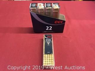 (5)  CCI 22 LR HP Mini Mag Boxes