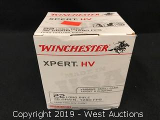 Brick Of Winchester 22 Long Rifle Rounds