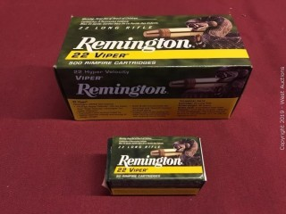 Brick of Remington 22 LR Viper Hyper Velocity Rimfire Boxes