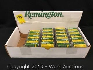 (19) Remington 22 Long Rifle Cartridges