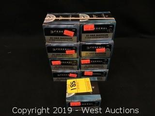 (9) Federal 32 H&R Magnum HP Boxes