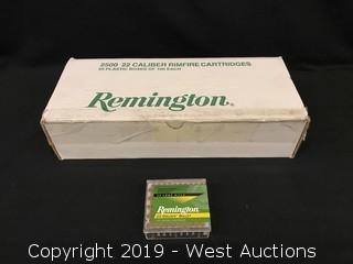 (25) Remington 22 Long Rifle Cartridges