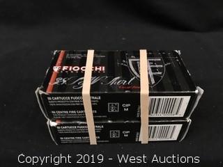 (2) Fiocchi 38 S&W Corto Short Boxes