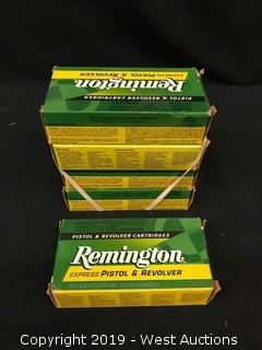 (5) Remington 38 Short Colt Boxes