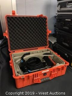 Pelican 1600 Protective Case With Camera Attachments
