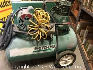 Speedaire Air compressor