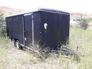 2013 Homemade 16' Cargo Trailer