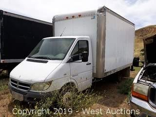 2006 Dodge Sprinter 15' Box Van (not running)
