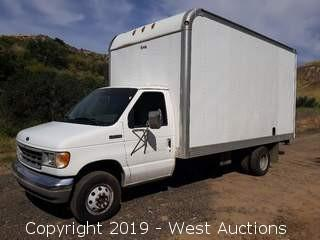 1996 Ford E-Super Duty 17' Box Van With Lift Gate