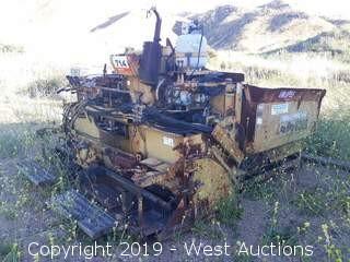 LeeBoy L8000T Crawler Asphalt Paver