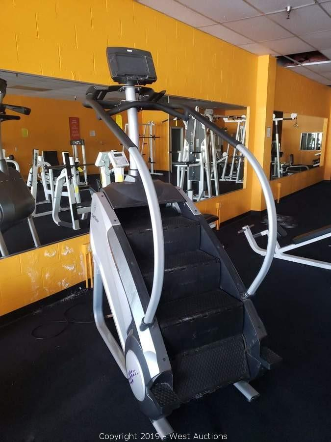 Stairmaster For Sale >> West Auctions Auction Online Auction Of Gym Equipment For Sale In