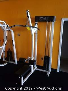 Paramount AP-2400 Lat Pulldown Machine