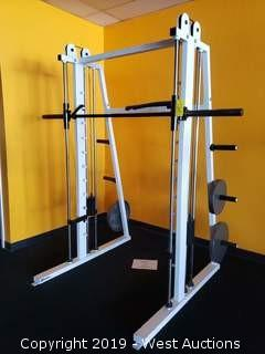Smith-Style Squat Machine