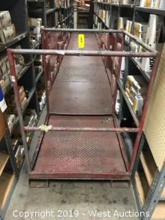 Safety Lift Platform For Forklift