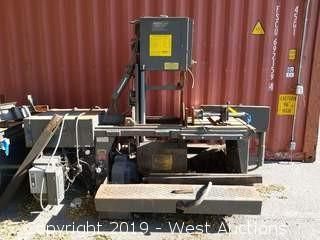 HE&M Saw Inc. Model V100LA-2 Automatic Vertical Bandsaw