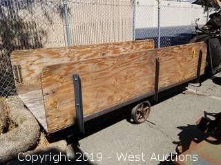 4' × 10' 3-Wheeled Cart