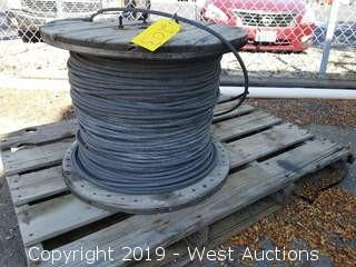 "Spool Of 1/2"" Steel Cable"