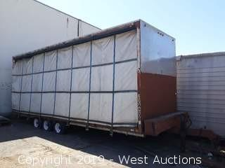 1989 Gowst 26' Double-Sided Tarp Trailer