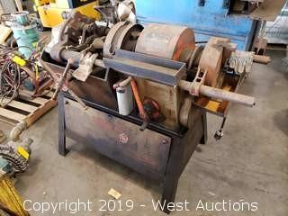"Toledo Beaver #1-2-4 1-4"" Threading Machine"