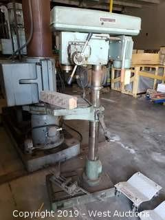 Ellis 9400 Variable Speed Drill Press With Mitsubishi D700 Readout
