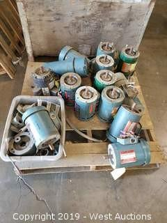 (14) Reliance and Dayton Electric Motors