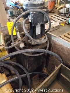 Fenner Fluid Pump and Fluid Tank