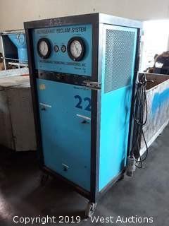 Van Steenburgh JV 90-4 Refrigerant Reclaim System