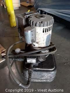 Electric Hydraulic Pump With Reservoir
